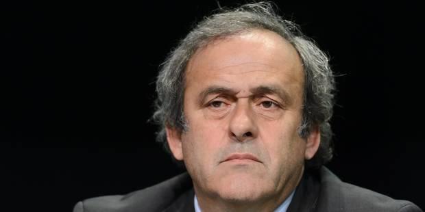 """Platini: """"On veut m'empêcher de me présenter car on sait que j'ai toutes les chances de gagner"""" - La Libre"""