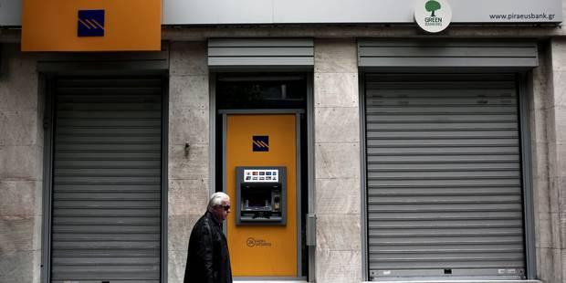 Banques grecques à recapitaliser - La Libre