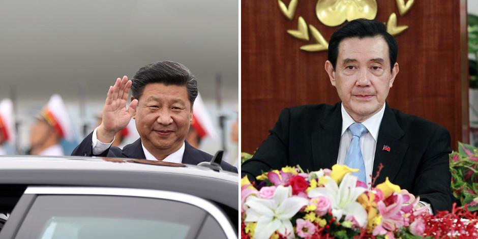 """Rencontre Chine/Taïwan: Pékin consent à parler au chef d'un régime hier encore """"fantoche"""" - La Libre"""