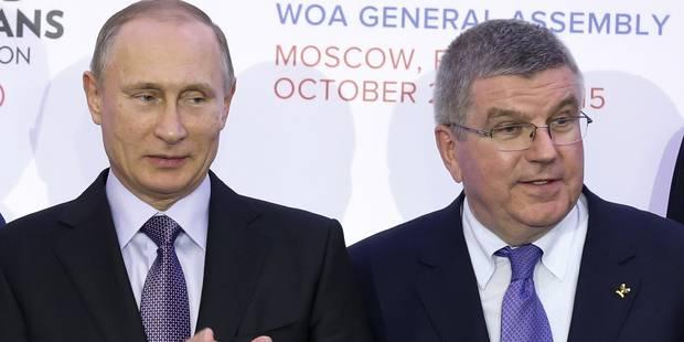 Dopage: la Russie suspendue à neuf mois des JO de Rio - La Libre