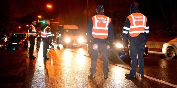 Anderlecht: trois hommes interpellés après une course-poursuite à 200km/h - La Libre