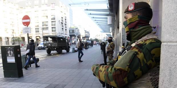 Menace terroriste: les écoles et les crèches rouvrent mercredi, niveau d'alerte 4 maintenu à Bruxelles - La Libre