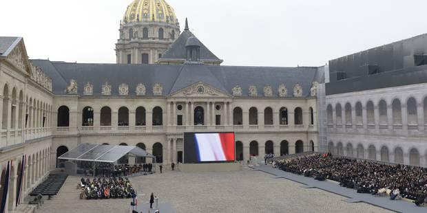 La France rend hommage aux victimes des attentats de Paris - La Libre