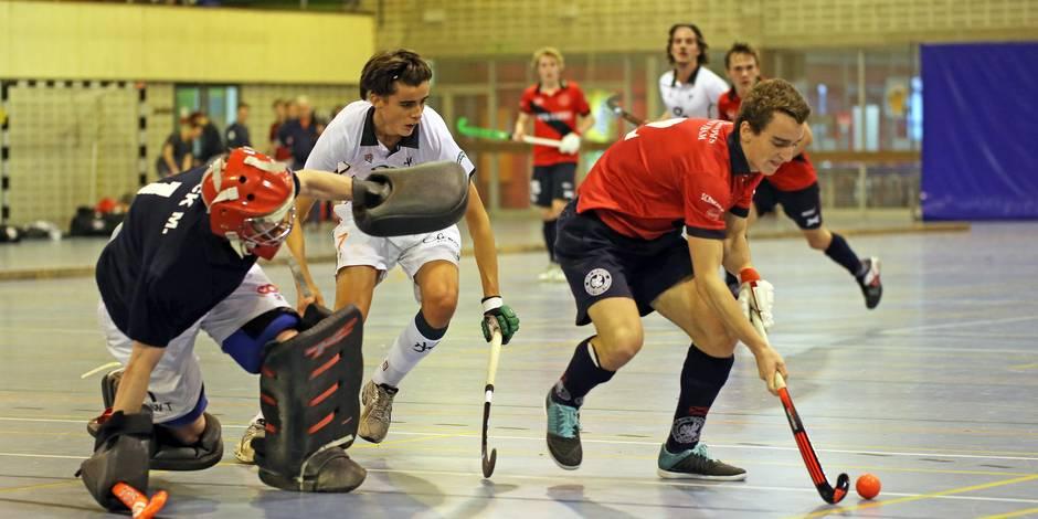Hockey en salle: l'Amicale Anderlecht prend la tête du championnat - La Libre