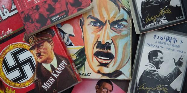 """""""Mein Kampf"""" tombera dans le domaine public, sa lecture sera utile - La Libre"""