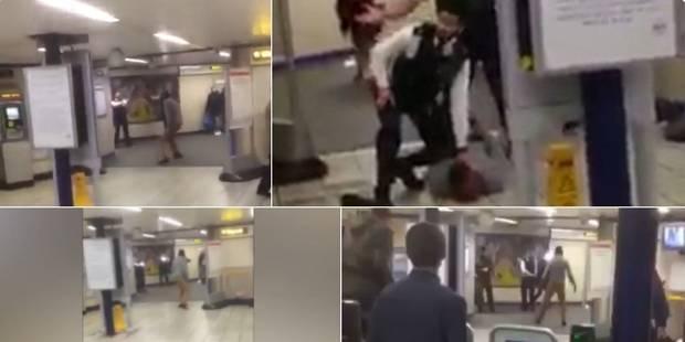 """Attaque au couteau dans le métro de Londres: """"acte terroriste"""" selon la police - La Libre"""