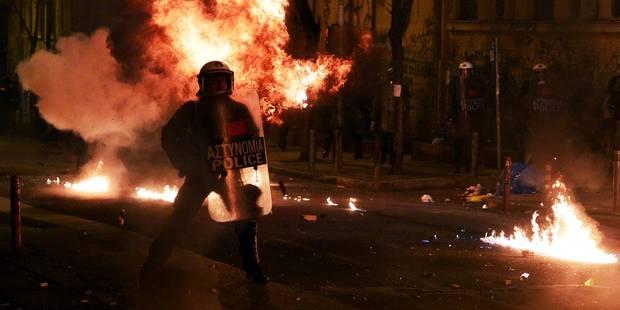 Grèce: violents heurts entre anarchistes et policiers à Athènes - La Libre