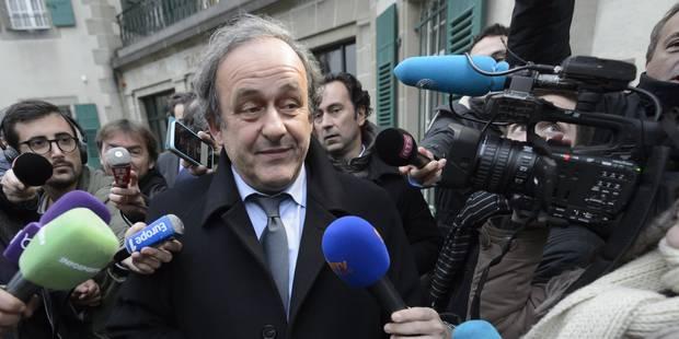 Le Tribunal Arbitral du Sport maintient la suspension de Michel Platini - La Libre