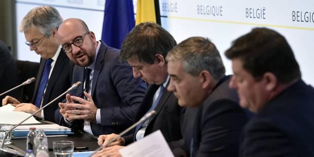 Lutte contre le terrorisme: le conseil des ministres a approuvé 6 des 18 mesures annoncées - La Libre