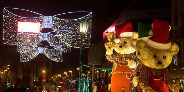 La parade de Noël a attiré 70.000 personnes à Bruxelles - La Libre