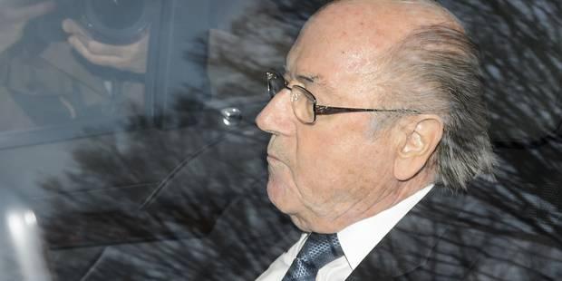 Blatter se défend devant le tribunal interne de la Fifa - La Libre