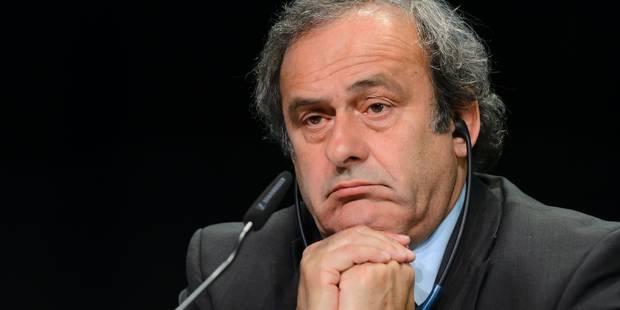 """Platini: """"Je suis déjà jugé, déjà condamné"""" - La Libre"""