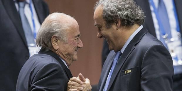 FIFA: Platini et Blatter suspendus huit ans ! - La Libre