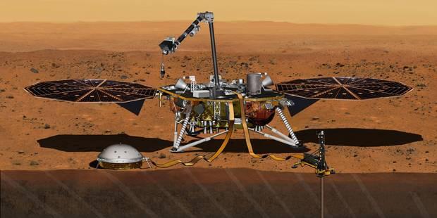 La Nasa reporte le lancement du robot InSight sur Mars prévu début 2016 - La Libre