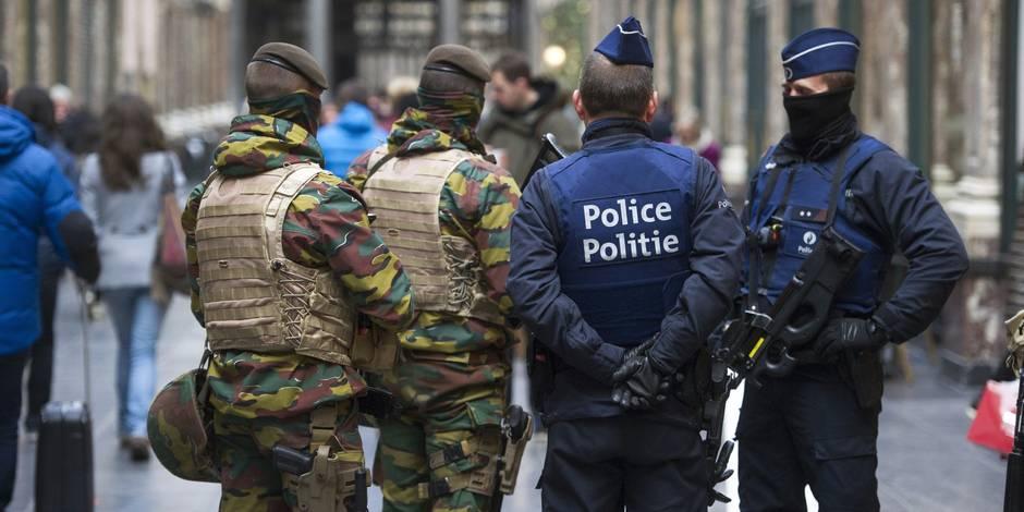 """Menace terroriste à Bruxelles: """"Les policiers doivent se faire les plus discrets possible"""" - La Libre"""