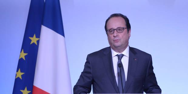 Le terrorisme, fil rouge des voeux de François Hollande - La Libre