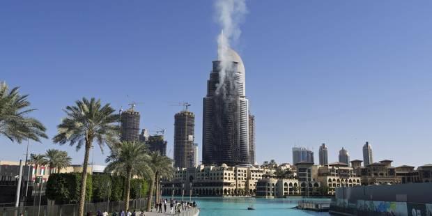 Dubaï enquête sur le spectaculaire incendie d'un hôtel de luxe en plein réveillon - La Libre