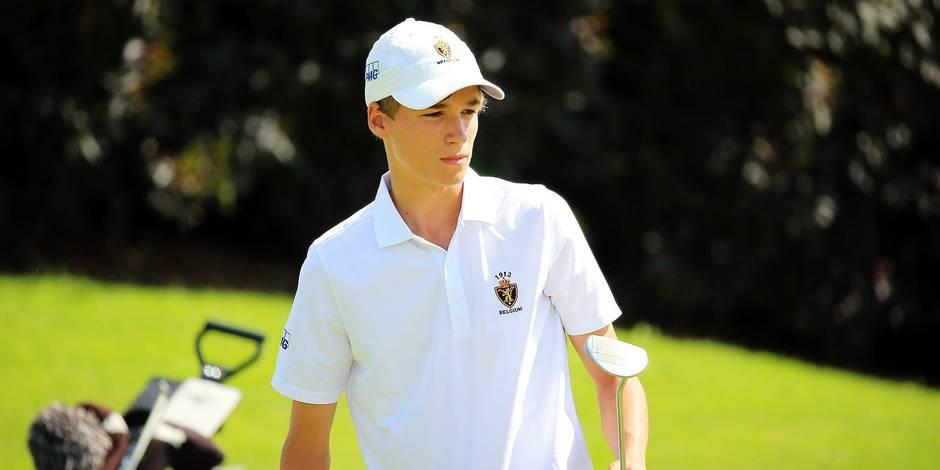 Golf: Adrien Dumont de Chassart, un vrai champion en herbe - La Libre