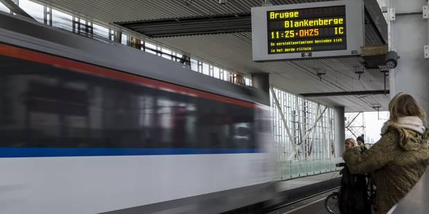 Grève du rail : un mouvement bien suivi en Wallonie au premier jour de la grève - La Libre
