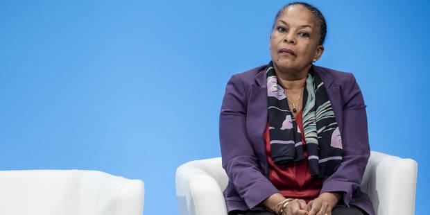 Christiane Taubira réaffirme son opposition à la déchéance de nationalité - La Libre