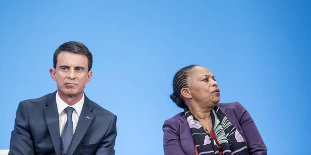 France: Valls recadre Taubira sur la déchéance de nationalité - La Libre
