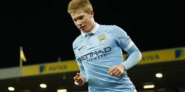 Kevin De Bruyne pour la 3e fois élu Joueur du mois de Manchester City - La Libre