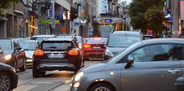 Trafic : à nouveau la pagaille dans Bruxelles - La Libre