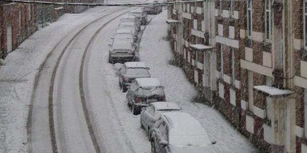 Chutes de neige: Les Namurois priés de rester chez eux - La Libre