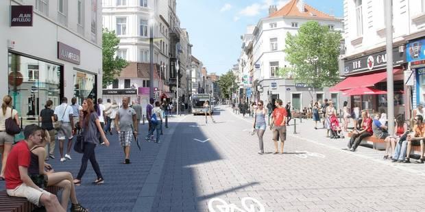 Stib : Le projet de tram 71 est mort, la chaussée d'Ixelles sans voiture d'ici 2018 - La Libre