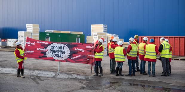 L'UCM réclame un plan de bataille contre le dumping social - La Libre