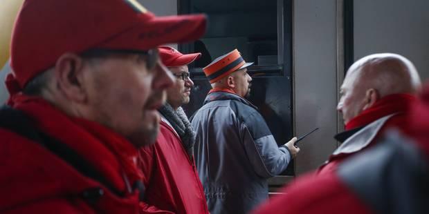 Enquête administrative sur un cheminot: entre 50 et 100 militants pour le soutenir - La Libre