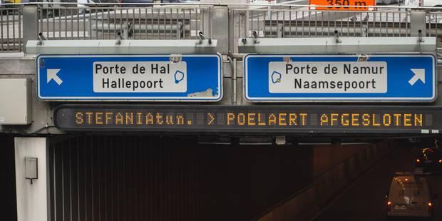 """Tunnels bruxellois: le fédéral et la Flandre """"stupéfaits"""" par la réponse de Vervoort - La Libre"""