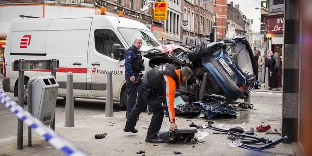 Grave accident à Liège: six blessés dont deux dans un état critique - La Libre