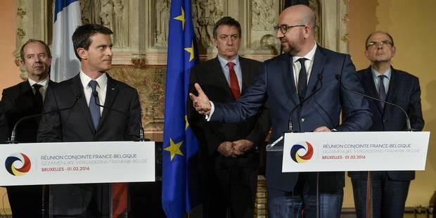 La coopération franco-belge n'est pas mauvaise, mais elle est perfectible - La Libre