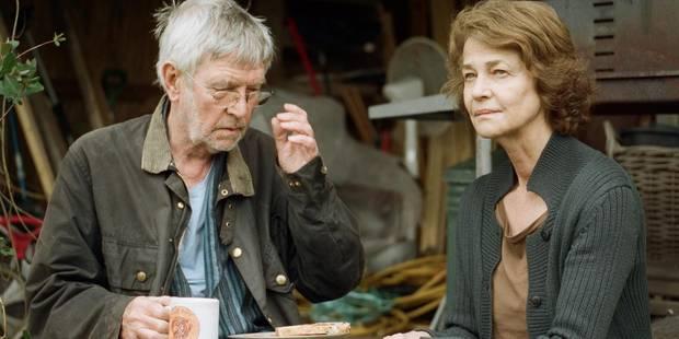 """""""45 Years"""" : Charlotte Rampling et Tom Courtenay, un vieux couple au bord de l'implosion - La Libre"""
