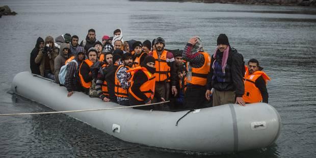 L'Otan accepte de jouer un rôle dans la crise migratoire en mer Egée - La Libre