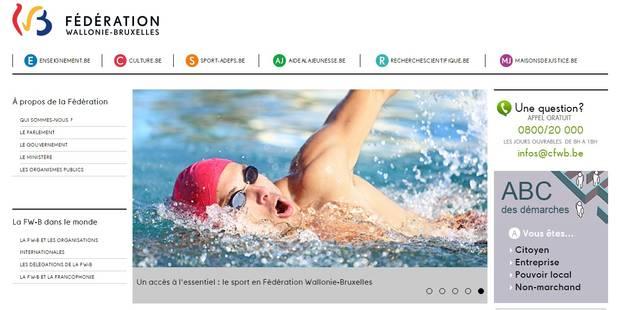 Le serveur de la Fédération Wallonie-Bruxelles rendu indisponible par un piratage - La Libre