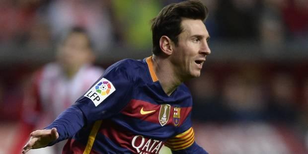 Doublé pour Messi qui passe la barre des 300 buts en Liga (VIDÉOS) - La Libre