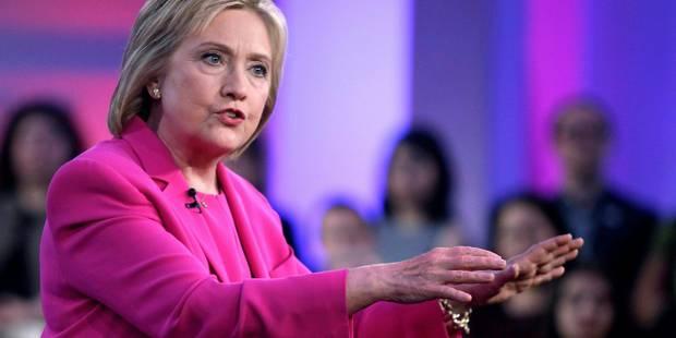 Primaires démocrates: Hillary Clinton rattrapée dans les sondages par Bernie Sanders - La Libre