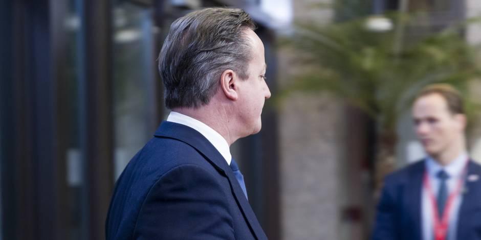 Edito: Cameron a fait perdre son temps à l'Union - La Libre