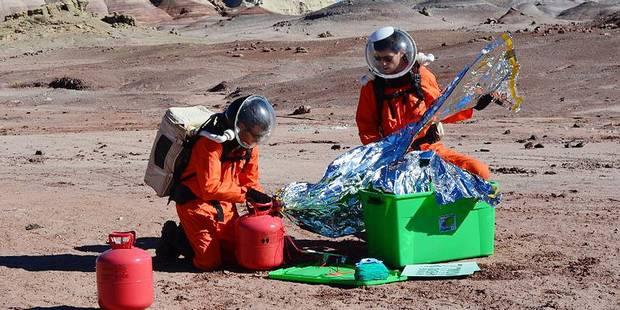 Louvain-la-Neuve: huit étudiants à l'assaut de Mars - La Libre