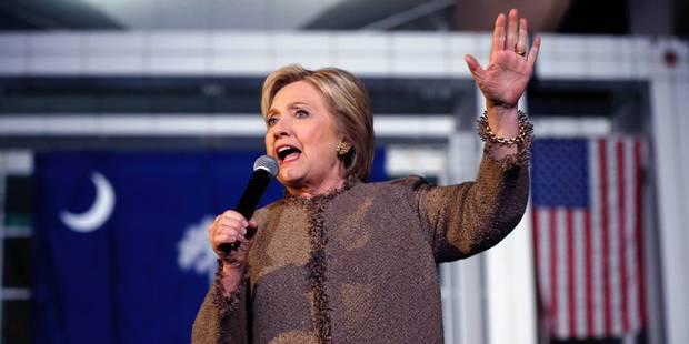 Jour de primaire démocrate aux Etats-Unis, Hillary Clinton favorite - La Libre
