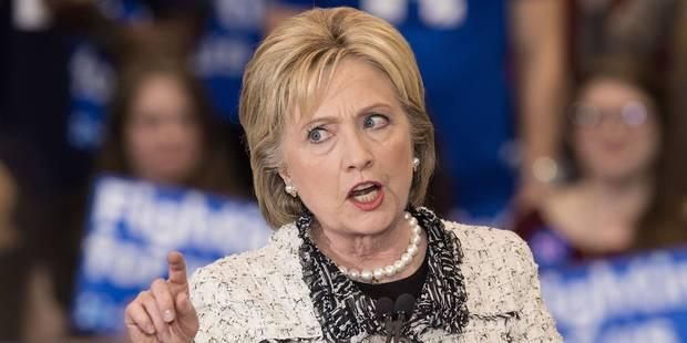 Primaires démocrates: Hillary Clinton bat largement Bernie Sanders en Caroline du Sud - La Libre