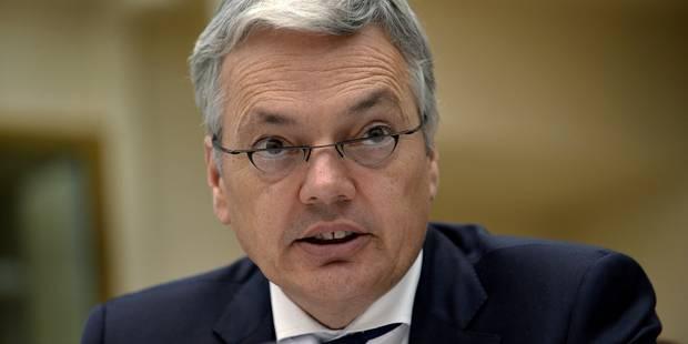 Reynders voudrait un mécanisme de surveillance des droits de l'homme propre à l'UE - La Libre