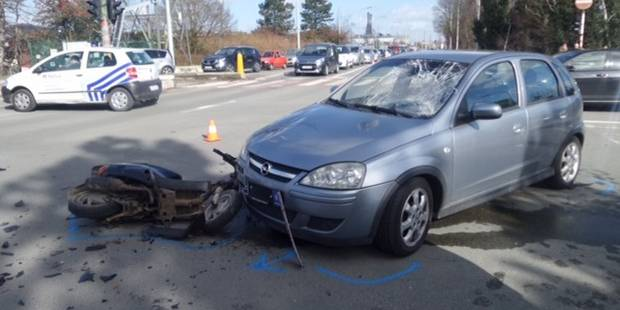 Châtelet: deux motocyclistes blessés dans un accident - La Libre