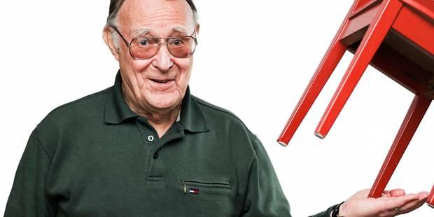 Le fondateur milliardaire d'Ikea s'habille... sur les marchés aux puces - La Libre
