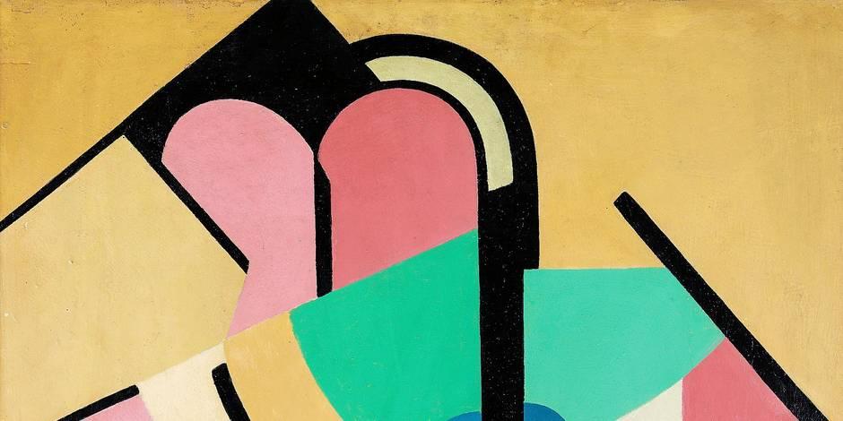 Marthe Donas, une femme belge à l'avant-garde de l'abstraction - La Libre