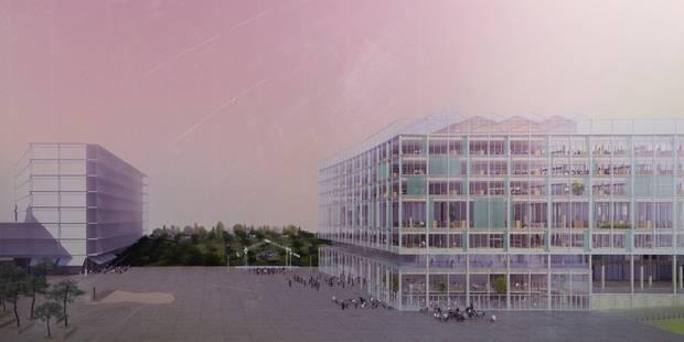 Voici le futur bâtiment de la RTBF, annoncé pour 2020 (photos) - La Libre