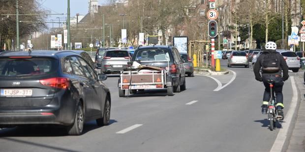 Les files en Flandre sont de plus en plus importantes sur les routes - La Libre