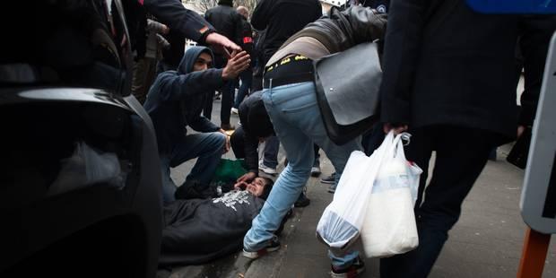 Manifestation interdite: un samedi après-midi agité à Molenbeek (VIDEOS) - La Libre